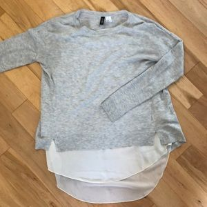Layered long sleeve